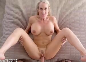 Mom jerks sons cock