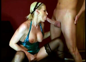 Hot blonde anal sex